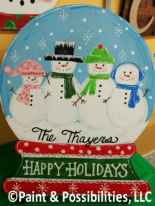 Special Project Family Snowglobe